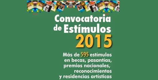 Ministerio de Cultura abre convocatoria de Estímulos 2015