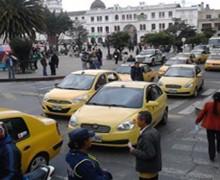 Las cosas que olvidaron resaltar los taxistas en la protesta en Pasto