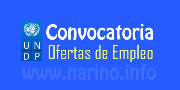 Pnud colombia abre convocatoria para contratar varios for Convocatorias para profesores 2016