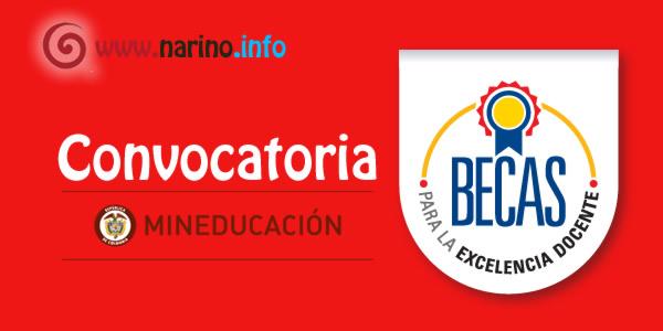 Ministerio de educaci n abre convocatoria de becas para la for Convocatoria docentes 2016 ministerio de educacion