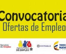 ¿Buscando Empleo?  En la agencia del SENA hay más de 17.390 vacantes a nivel nacional