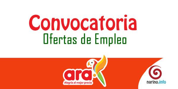 Tiendas ara abre convocatoria de 500 vacantes de empleo for Trabajo en comedores escolares bogota