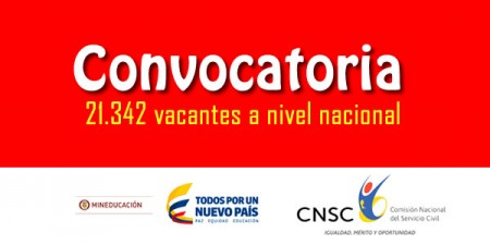 Ministerio de educaci n abre convocatoria de for Convocatoria docentes 2016 ministerio de educacion