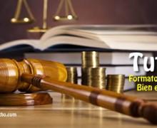 ¿Cómo se debe presentar una tutela? Formato explicado y con ejemplo