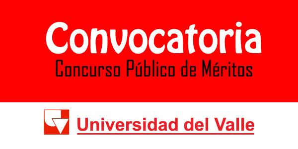 Universidad del valle abre concurso p blico de m ritos for Concurso meritos docentes 2016