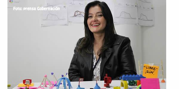 Paola Coral Asesora de Despacho Innovación Social, Gobernación de Nariño. Foto: Prensa Gobernariño