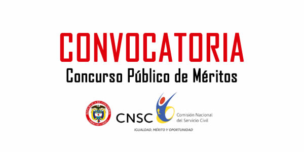 Convocatorias comision nacional del servicio civil 2016 for Convocatoria concurso de docentes 2016