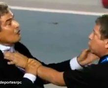 Videos de la Pelea del Bolillo Gómez y Jorge Luis Pinto en un partido Internacional