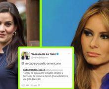 El proceso que le abrirá Blu Radio a Vanessa De La Torre tras el Tweet a Melania Trump