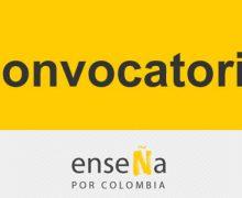 Enseña por Colombia abre convocatoria nacional para jóvenes profesionales