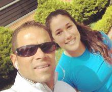 Óscar Córdoba tuvo que contratar a un profesor para que le enseñara a tapar a su hija