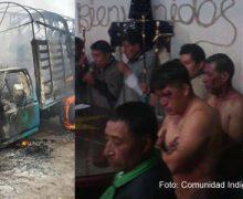 Supuestos ladrones de ganado fueron linchados y casi quemados por la comunidad en Cumbal