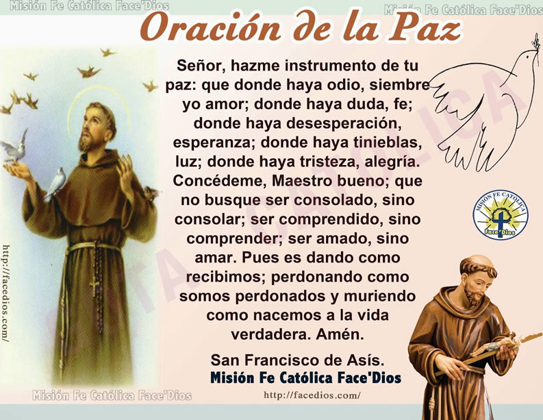 oracion-paz-San-francisco