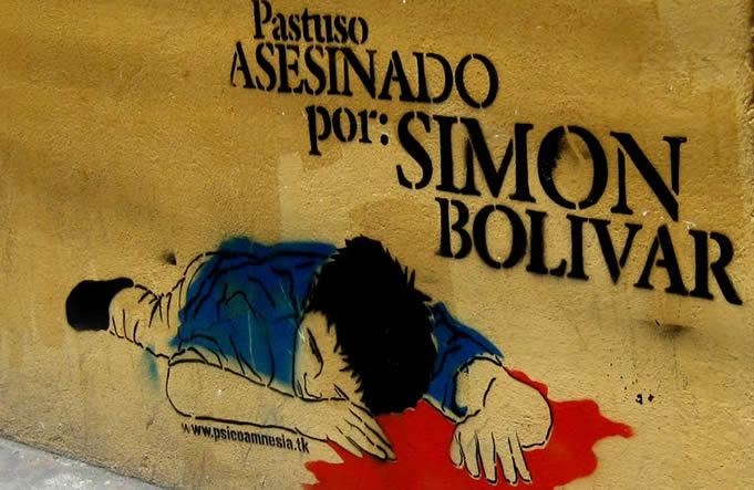 11Ago - Bolivar, Padre Libertador. Bicentenario - Página 16 Pastuso-asesinado-por-simon-bolivar
