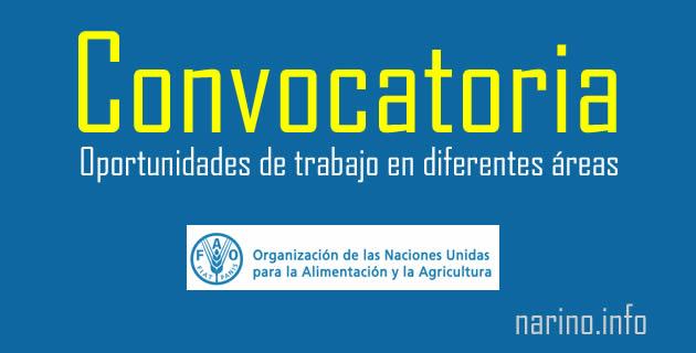 FAO Colombia abre convocatoria