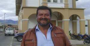 Virgilio Rodríguez, dirigente.
