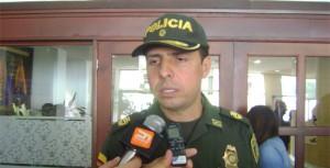 Coronel Javier Pérez Watts, comandante de la Policía Metropolitana de Pasto.