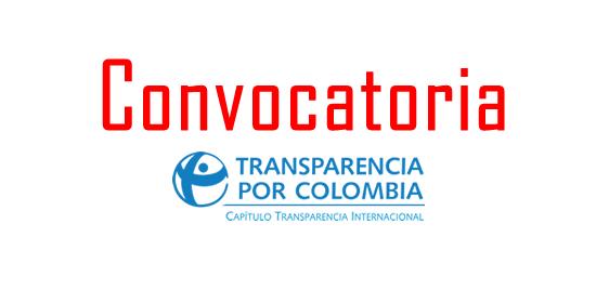 Transparencia por Colombia abre convocatoria