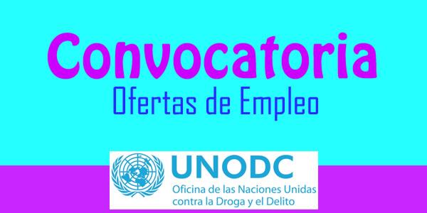 UNODC abre convocatoria nacional
