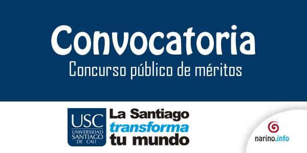 Universidad santiago de cali abre convocatoria para for Concurso meritos docentes 2016