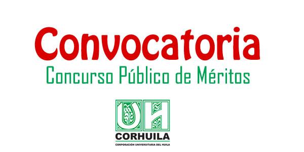 Corporaci n universitaria del huila abre concurso p blico for Concurso meritos docentes 2016