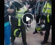 Pelea entre estudiantes en el Parque Nariño termina en el Sebastián de Belalcazar con dos heridos