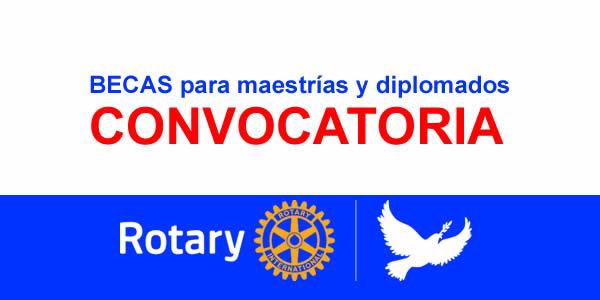 Becas Rotary pro Paz