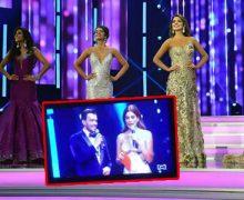 VIDEO: el error que pocos vieron durante la transmisión del Reinado Nacional de la belleza