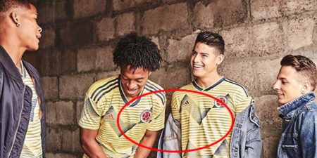nueva camiseta de la Selección