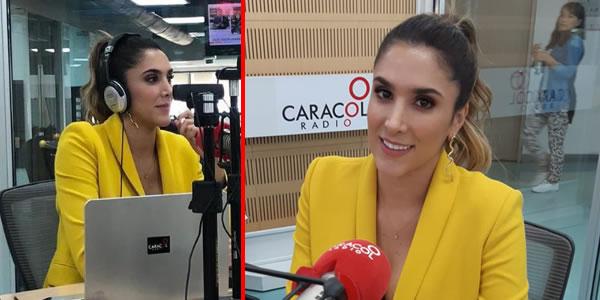 Daniela Ospina trabajado en Caracol Radio