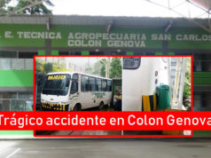 Accidente en Colon Genova