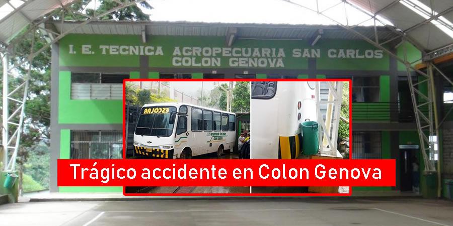 Accidente en Colon Genova