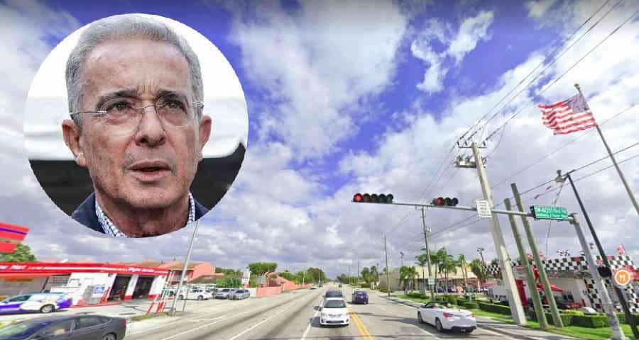 Álvaro Uribe Way