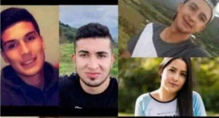 jovenes en samaniego asesinados