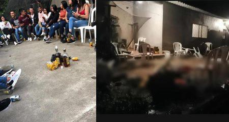 asesinato de jóvenes en Samaniego