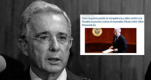 Proceso contra Álvaro Uribe Vélez