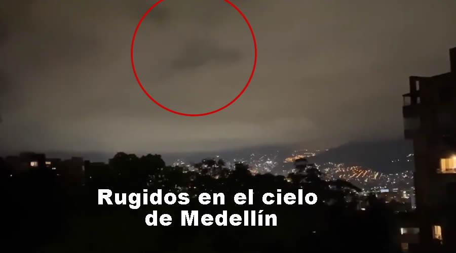 RUIDOS EXTRANOS EN EL CIELO de MEDELLIN