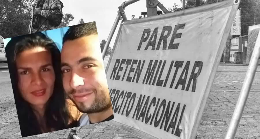 soldado que mató a mujer en el Cauca