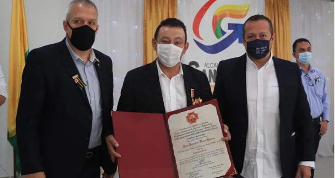 Gobernador de Nariño recibe reconocimiento por su gestión