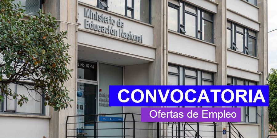 Ministerio de Educación abre convocatoria